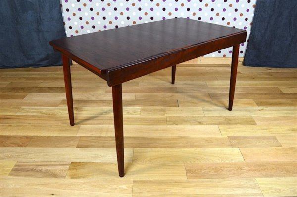 table palissandre mobilier scandinave