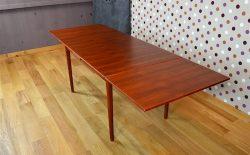 Table Rectangle Design Scandinave en Teck Vintage 1960