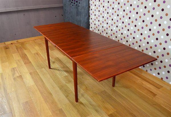 Table Rectangle Design Scandinave en Teck Vintage 1960