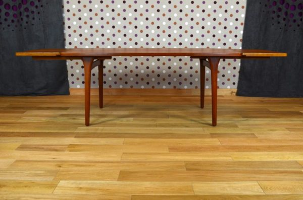 table avec 2 allonges scandinave