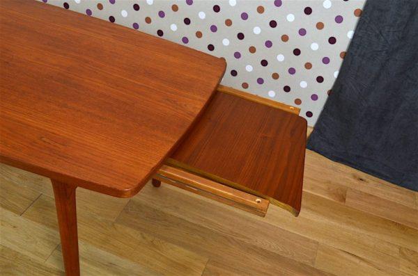 table 2 allonges teck vintage