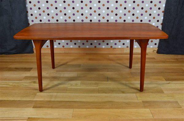 table vintage teck designer henning kjaernulf