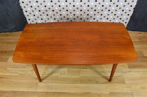table vintage teck scandinave