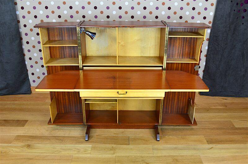 Bureau Malle Magic Box Design Scandinave En Acajou Vintage 1960 Vendu Design Vintage Avenue