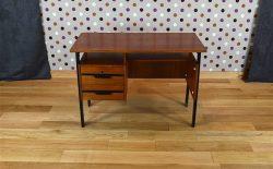 Bureau Design Vintage en Merisier Année 1960