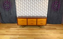 Commode Basse Design Scandinave Vintage 1950