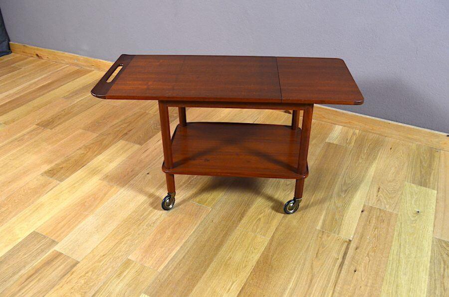 desserte danoise en teck johannes andersen vintage 1960 vendu. Black Bedroom Furniture Sets. Home Design Ideas