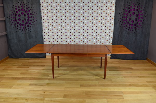 Table Scandinave en Teck Designer M. Bloch