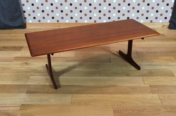Table Basse Scandinave de Karl Ekselius Vintage 1960