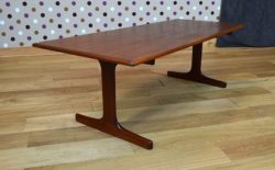 Table Basse Scandinave de Karl Ekselius Vintage 1960