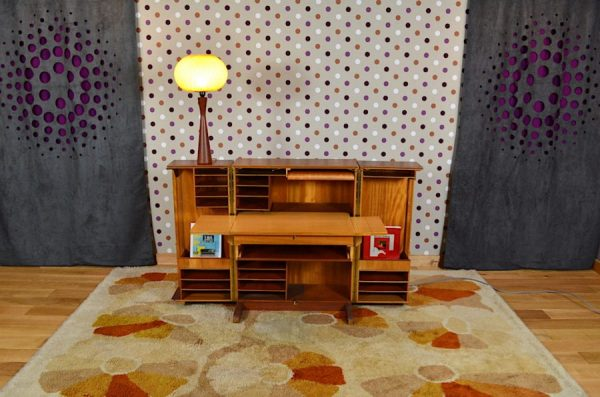 Bureau Malle « Magic Box » Design Scandinave Vintage 1960