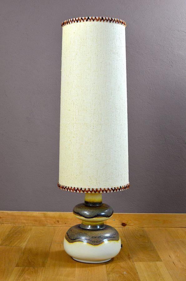 Lampe c ramique design scandinave vintage 1960 for Lampe design scandinave