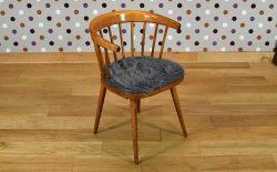Fauteuil de Bureau Bistrot 1950 Design Vintage