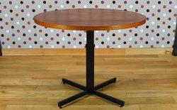 Table Transformable Scandinave en Teck Vintage 1960