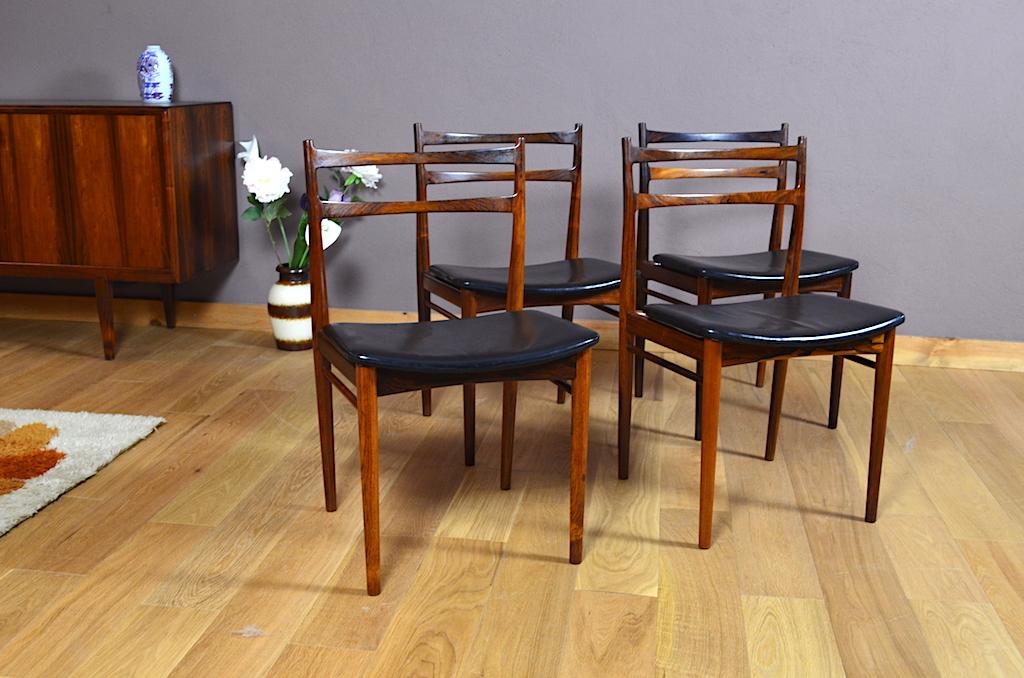 s rie de chaises chaise scandinave vintage design vintage avenue. Black Bedroom Furniture Sets. Home Design Ideas