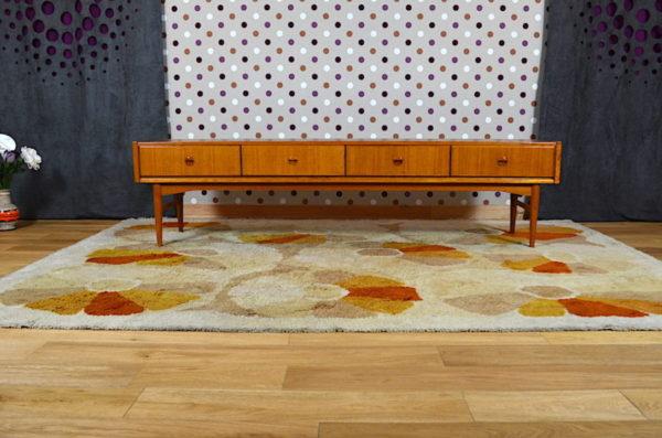 Enfilade Basse Vintage Design Scandinave Année 1960