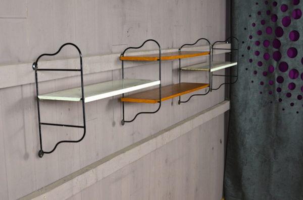 Étagère Design Industriel Vintage Rétro 1950