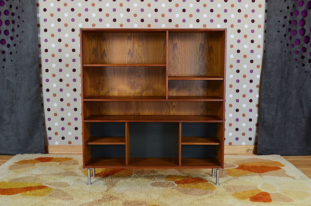 tag re scandinave en teck domino mobler vintage 1960. Black Bedroom Furniture Sets. Home Design Ideas