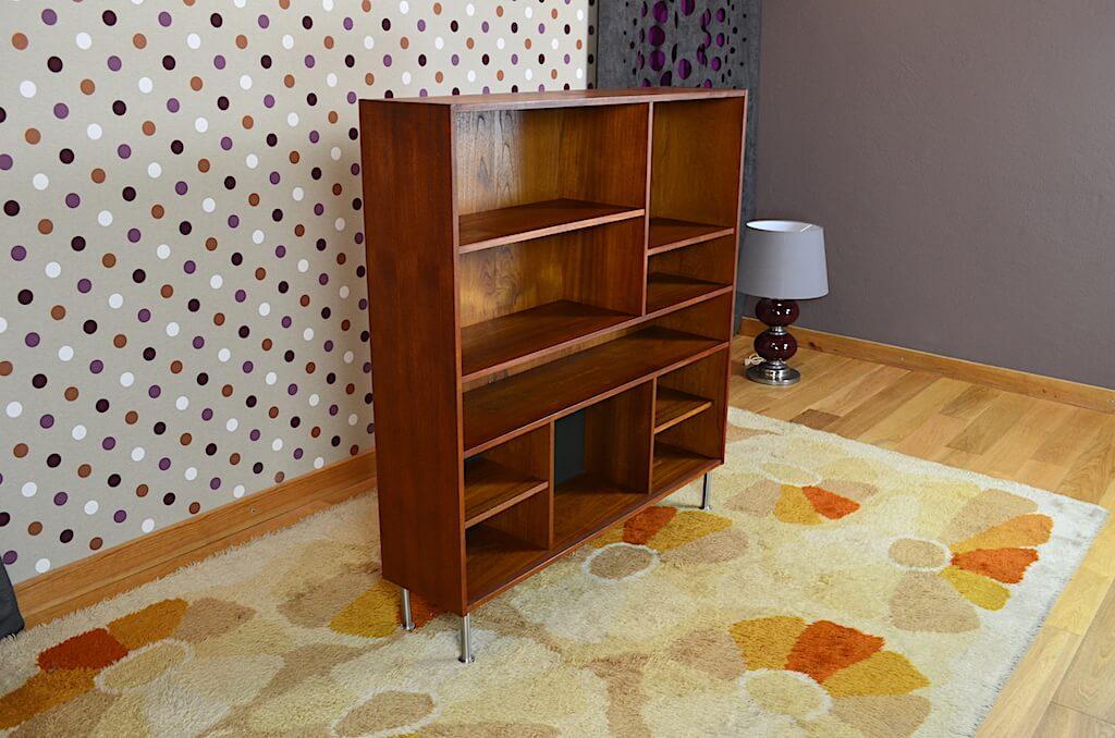 tag re scandinave en teck domino mobler vintage 1960. Black Bedroom Furniture Sets. Home Design Ideas