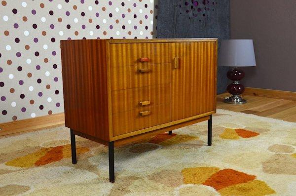 Petite Enfilade en Acajou Vintage Rétro Année 1960
