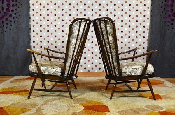 2 Fauteuils de Salon Lucian R. Ercolani Éditeur Ercol Vintage 1956