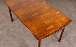 Table Scandinave en Palissandre de Rio Berg Gerhard 1960