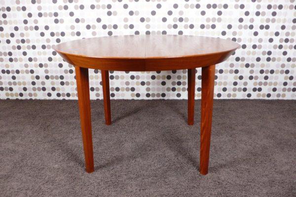 Table de Repas Scandinave en Teck Ole Hald 1960
