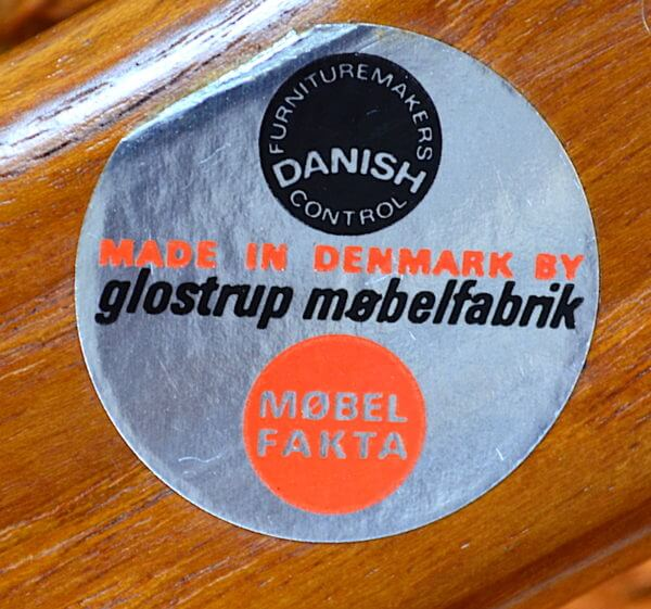 3 Chauffeuses Formant Banquette Danoise Arne Vodder 1960 Glostrup