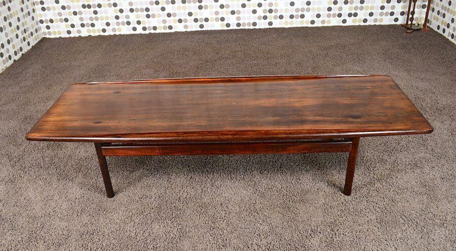 table basse danoise en palissandre de rio grete jalk 1959. Black Bedroom Furniture Sets. Home Design Ideas