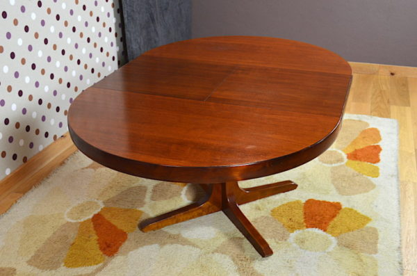 Table de Repas Ronde / Ovale Design Vintage 1960