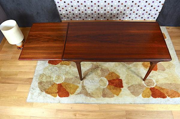 Table Johannes Andersen en Teck pour Uldum Vintage 1966