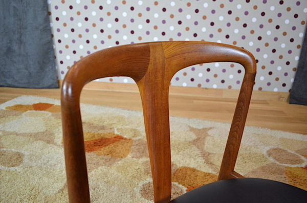 Série de Chaises Danoise de J. Andersen pour Vamo Mobelfabrik