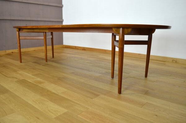 Table Danoise en teck Arne Vodder Edité par Sibast vintage 1960