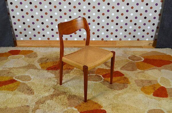 chaises teck et cordage