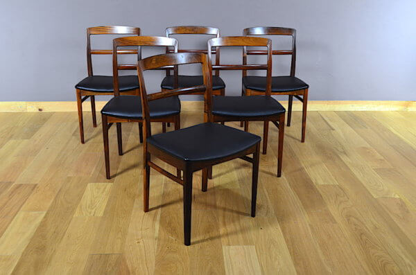 chaises palissandre de rio