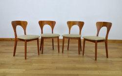 4 chaises koefoeds hornslet