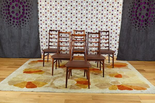6 chaises scandinave