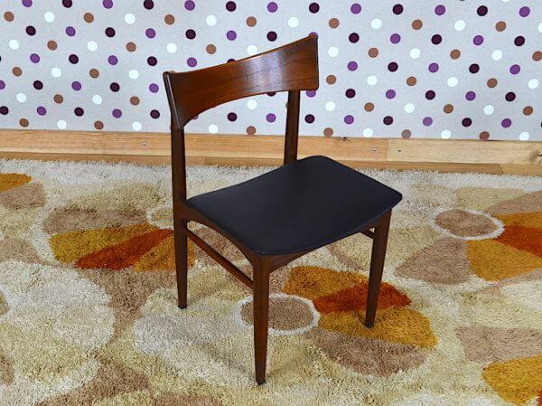 6 chaises vintage 1960