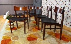 6 chaises danoise en teck