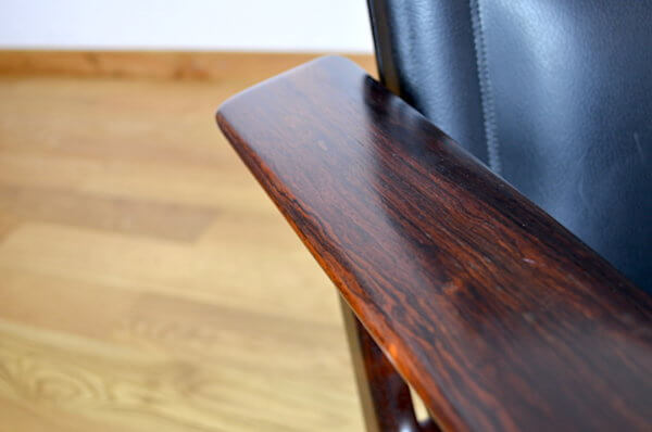 fauteuil de bureau palissandre de rio