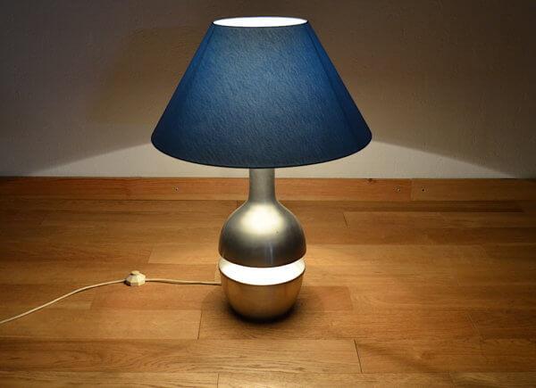 lampe alu brossé vintage