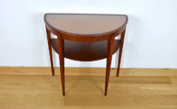 table demi-lune vintage