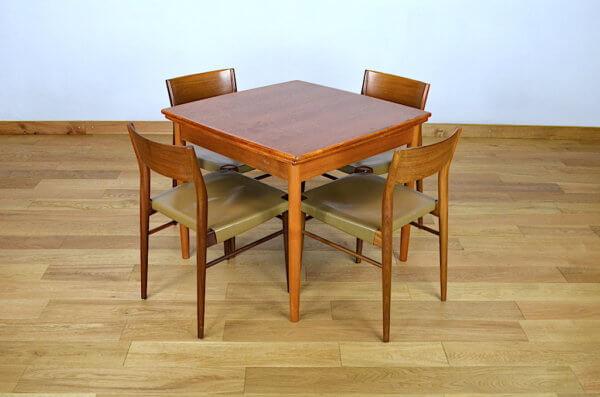 table carré vintage