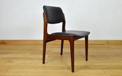 chaises acajou scandinave