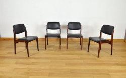 chaises acajou vintage
