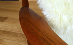 fauteuil teck