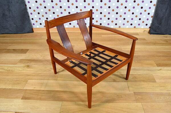fauteuil teck 1950