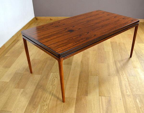 Table en Palissandre de Rio Johannes Andersen