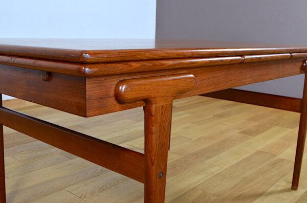 Table Scandinave en Teck Vintage 1960