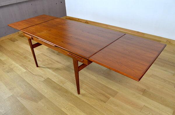 Table Scandinave Ejvind A. Johansson Vintage 1960